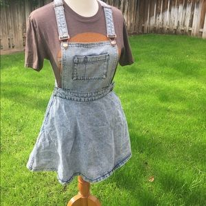 Vintage overall dress